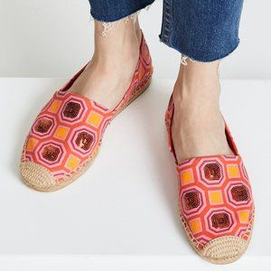 Tory Burch Cecily Sequin Embellished Espadrille 7